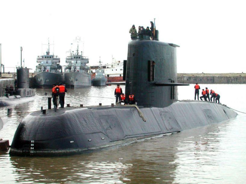 Le sous-marin argentin San Juan